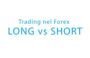 Andare Long e andare Short nel Forex