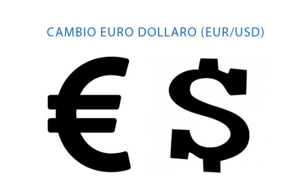 EUR/USD: grafico tasso di cambio Euro Dollaro odierno (in tempo reale)