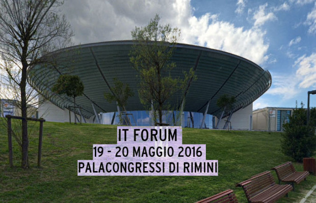 IT FORUM 2016 al Palacongressi di Rimini
