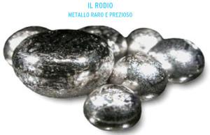 Rodio: metallo raro e prezioso