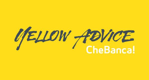 Yellow Advice CheBanca!