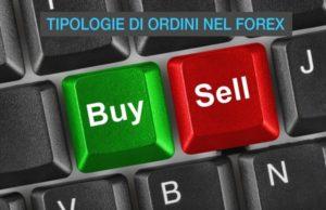 Tipologie di Ordini nel Forex
