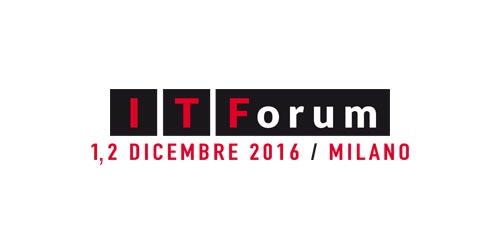 IT Forum 2016 a Milano