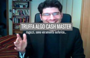 truffa Algo Cash Master - Trading Binario