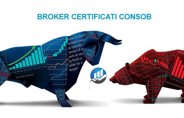 Broker Certificati Consob
