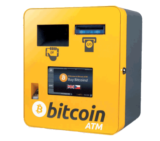 Bancomat ATM per Bitcoin
