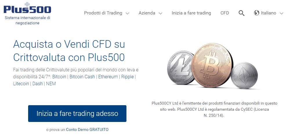 Broker per Bitcoin