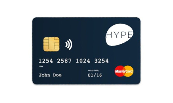 carta Hype per Trading e Criptovalute